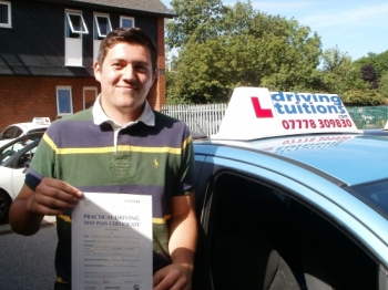 Excellent Driving Instructor Very patient and calm Franco will teach you everything you need to know to become a safe and confident driver and I found the result today as I passed first time<br />