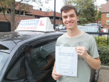 Passed first time with Franco. He knows everything there is to know about driving, and transfers knowledge well.