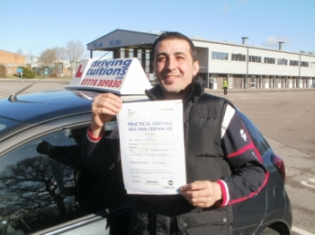 I just passed my test with Franco Great instructor patient friendly always on time and very flexible Would recommend him to everyone Thank you Franco for everything All the best