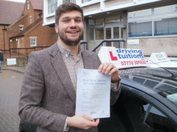 Iacute;m very grateful to Franco for getting me through my test He was a joy to talk to throughout the lessons and was professional throughout If youacute;re looking for a driving instructor make sure you give him a call Joseph